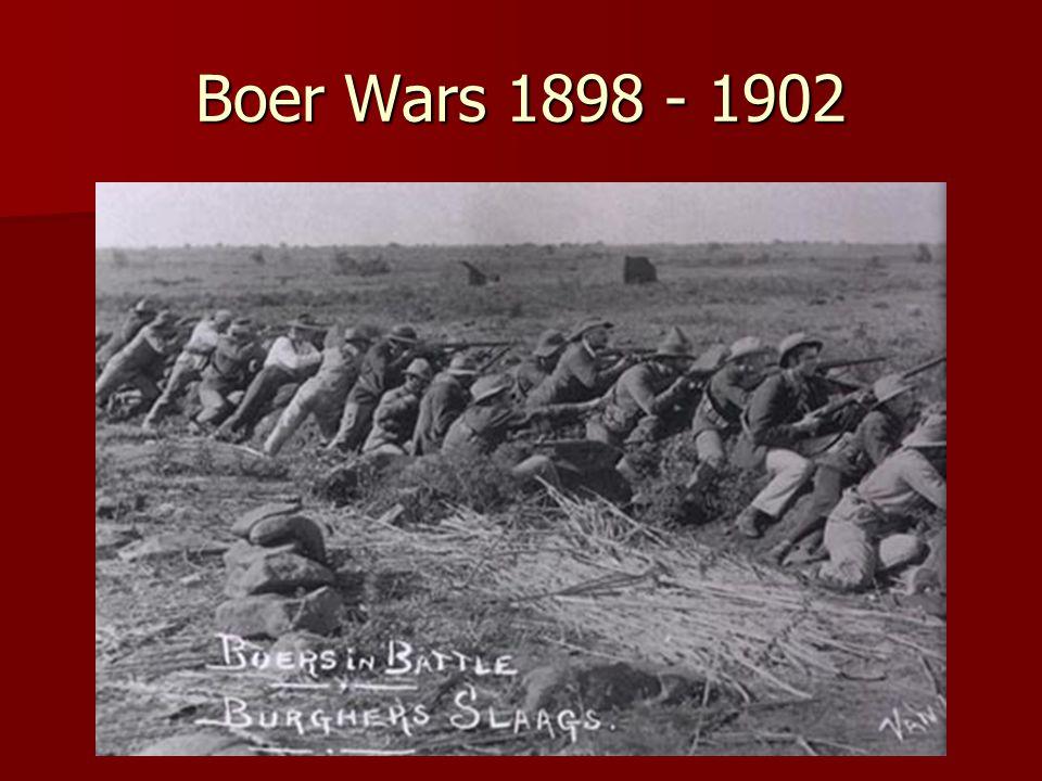Boer Wars 1898 - 1902