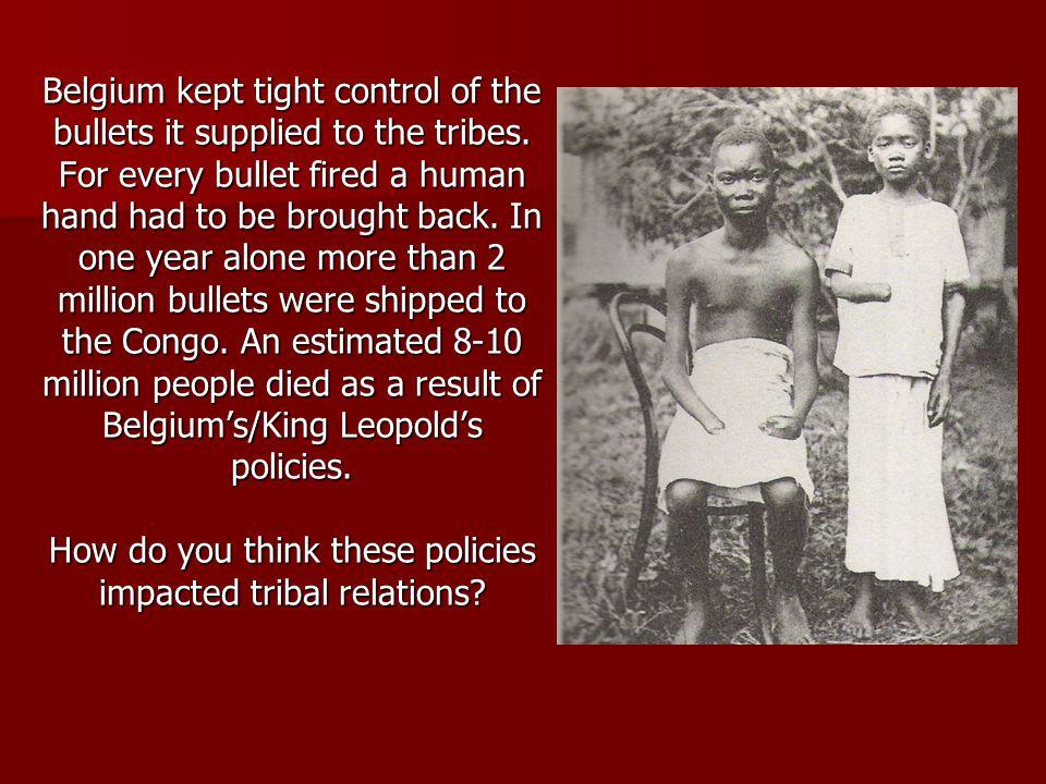 A European traveling in the Belgium Congo 1912 – A White Man's Burden
