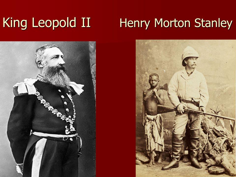King Leopold II Henry Morton Stanley