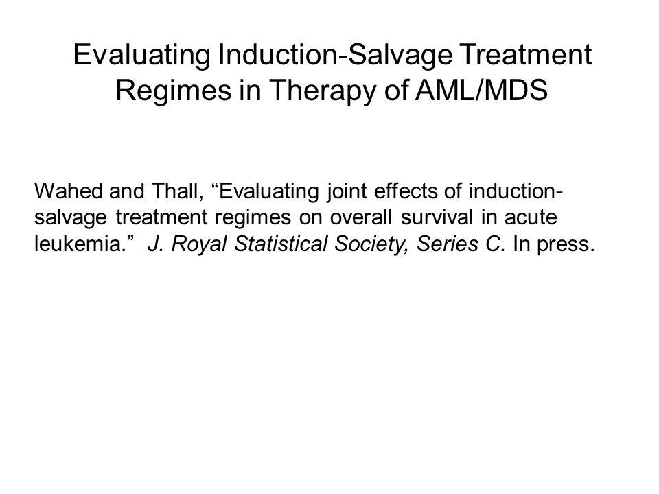 Example 3: An ATRA Trial (Estey, et al.