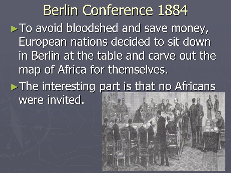Scramble for Africa ► Europe had been interested in Africa for centuries  Through the slave trade ► Much of Africa still unexplored until 1880s  European influence restricted to coastline ► Technology allows Europeans to explore African interior  Steamboats, Suez Canal, advances in medicine