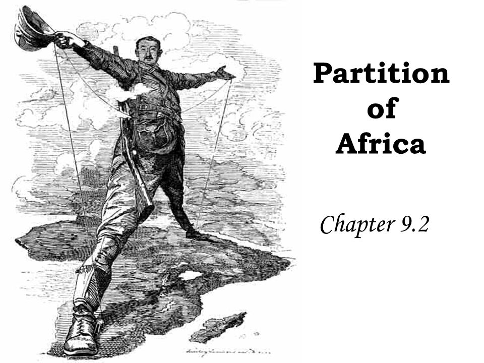 Africa in the Early 1800's North Africa Much of this Muslim section of Africa was under control of the Ottoman Empire