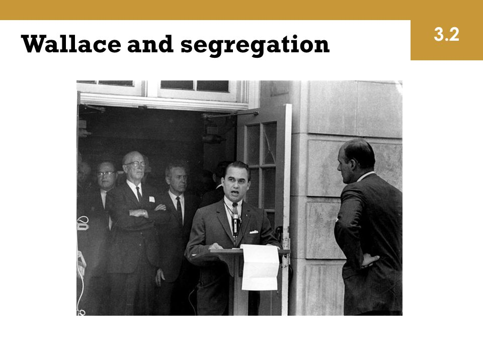 Wallace and segregation 3.2