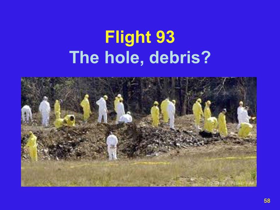 58 Flight 93 The hole, debris