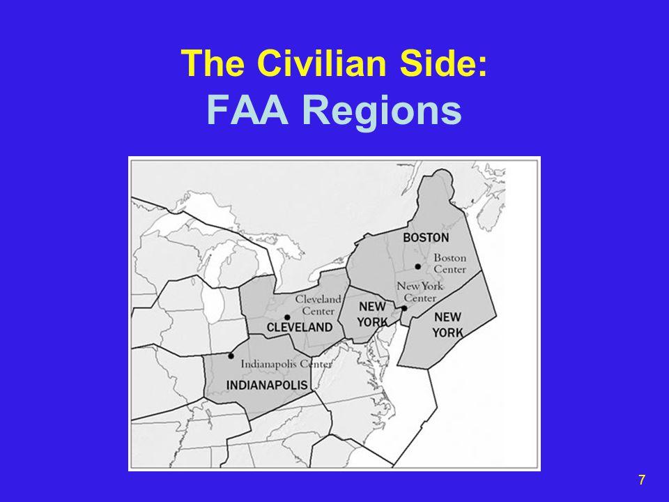 7 The Civilian Side: FAA Regions