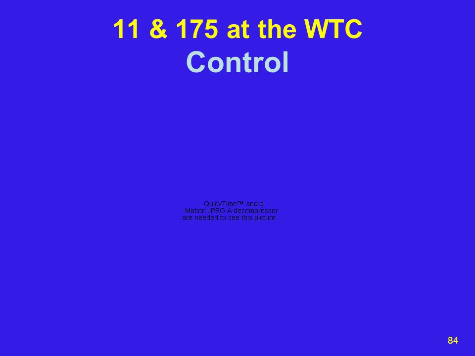 84 11 & 175 at the WTC Control