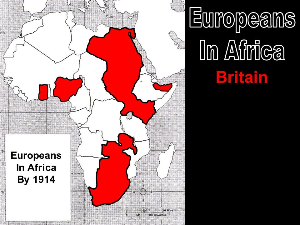 Britain Europeans In Africa By 1914