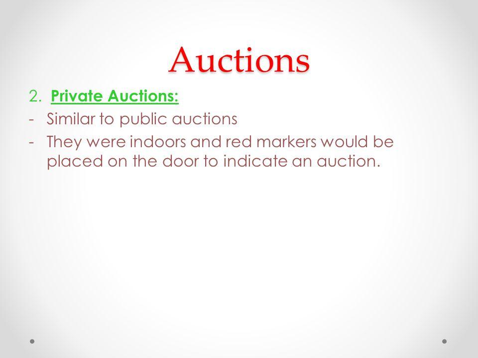 Auctions 2.