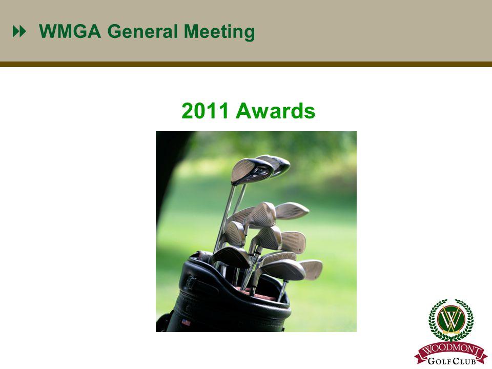 WMGA Most Improved Handicap 10 Most Improved for 2011 is !!!!!!! Tom Guthrie
