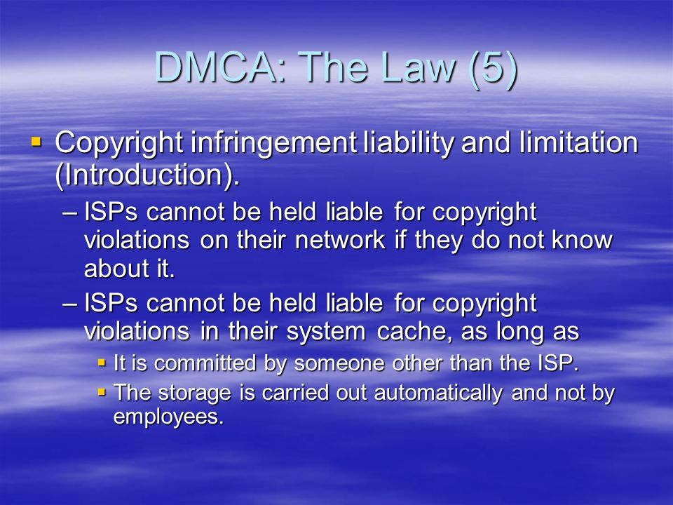 The Movie Industry Fights Back (2)  The music industry's campaign was met with widespread criticism  Only 36% of the US population believe that file sharing is stealing  Many software developers are rushing to create new systems to share music more covertly