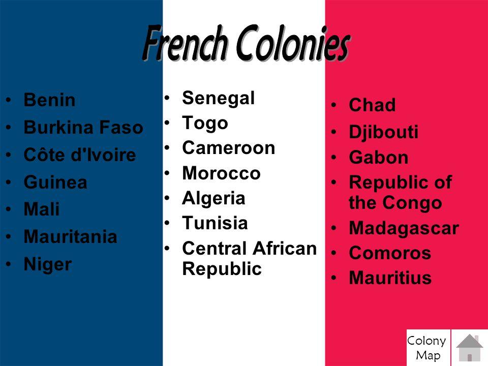 Colony Map