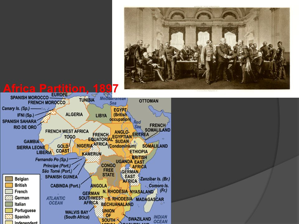 Africa Partition, 1897