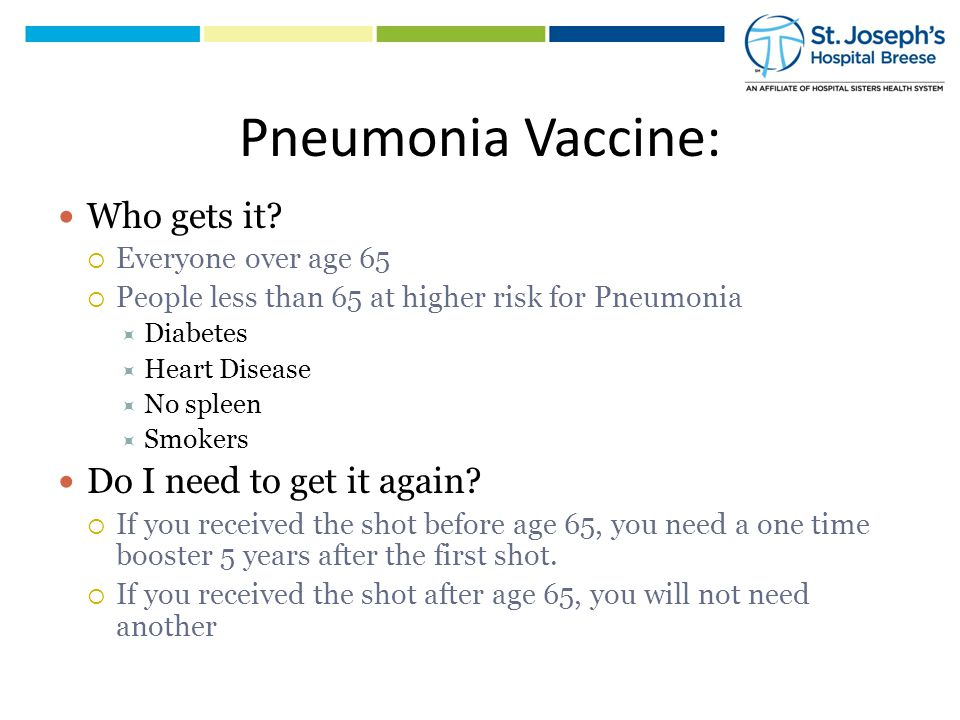 Summary: Pneumonia is a common disease that is more common in people that smoke and who are over 65.