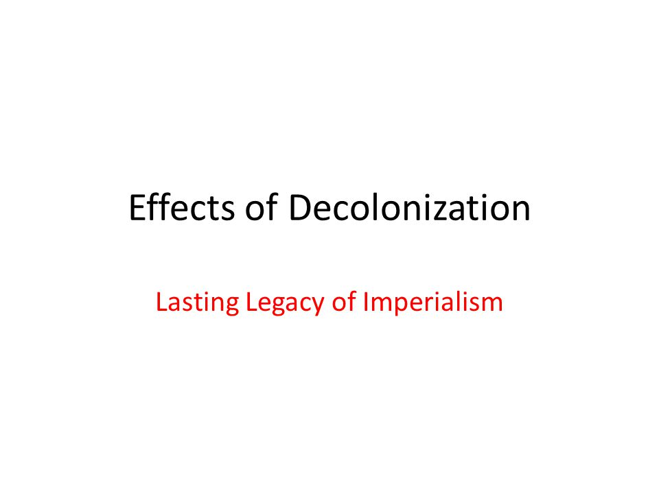 Factors that Impacted the Economic and Political Success of Newly Liberated Nations: Did the nation fight to become free.