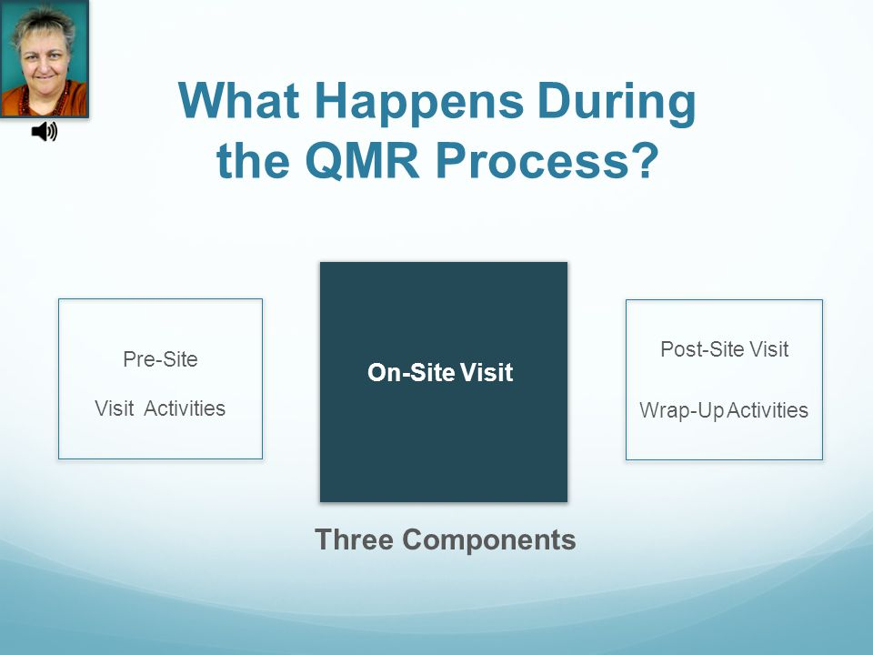 What Happens During the QMR Process.