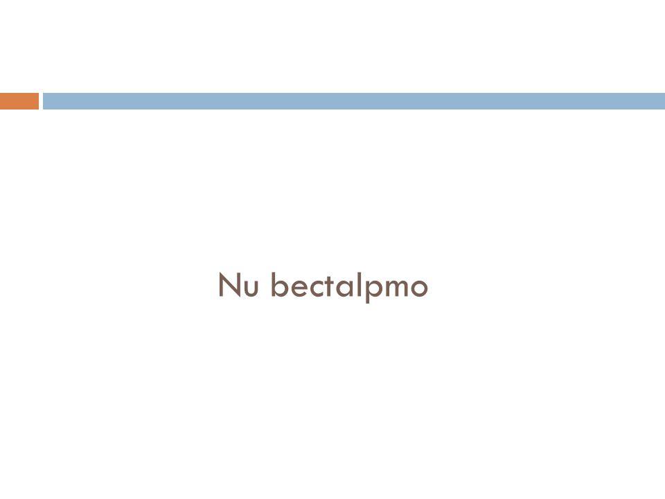 Nu bectalpmo
