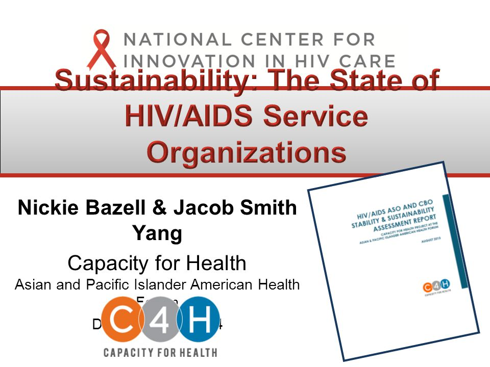 Nickie Bazell & Jacob Smith Yang Capacity for Health Asian and Pacific Islander American Health Forum December 16, 2014