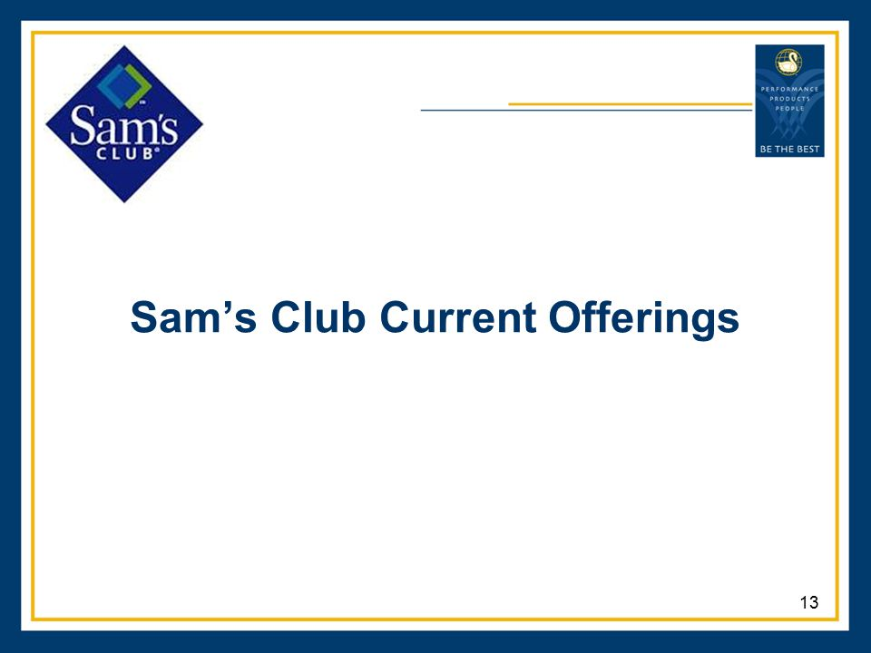 Sam's Club Current Offerings 13