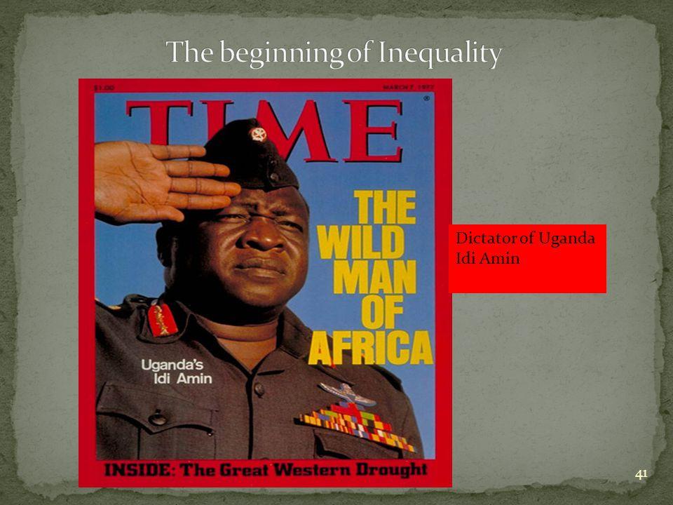 41 Dictator of Uganda Idi Amin