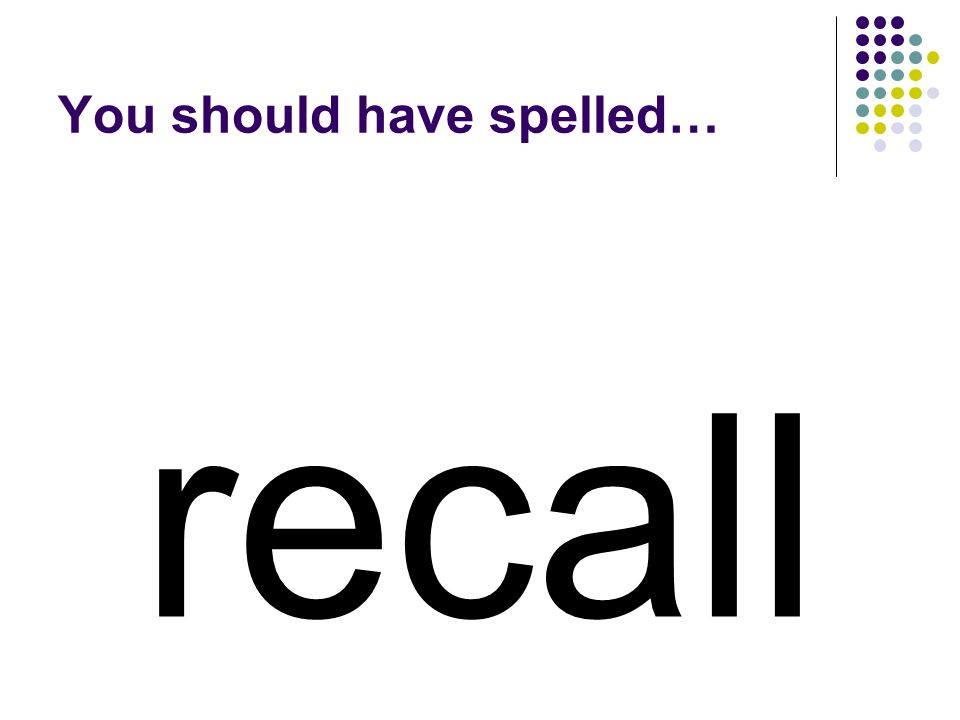 replace Use the same prefix to make a word that means to remember.