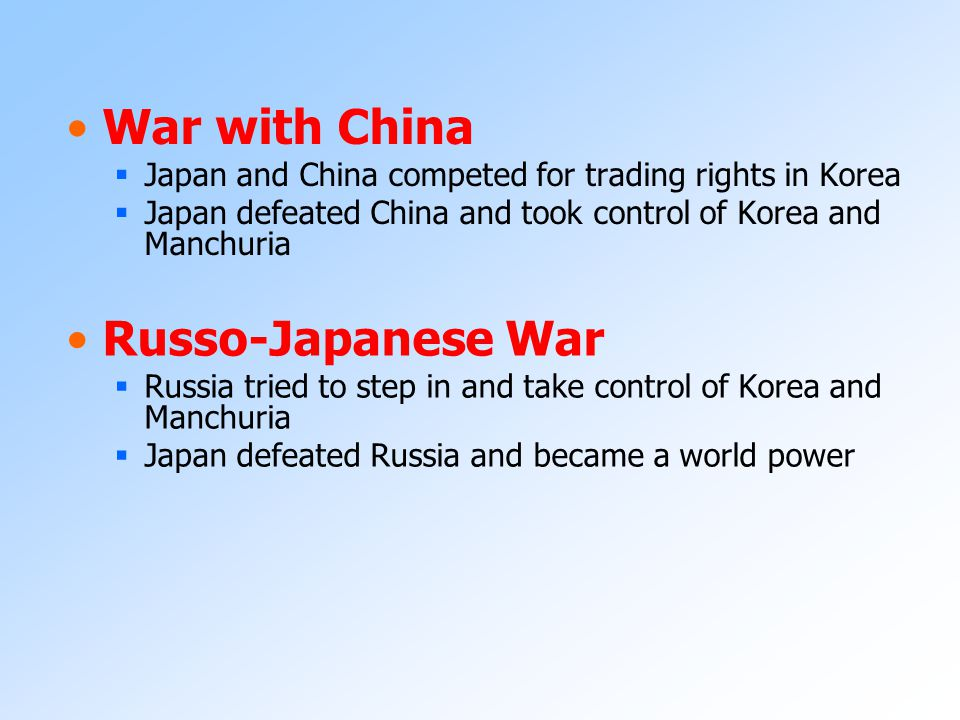 Japanese Imperialism Since the 1600's, Japan had practiced a policy of isolationism, in which it cut itself off from the outside world In the 1850's,