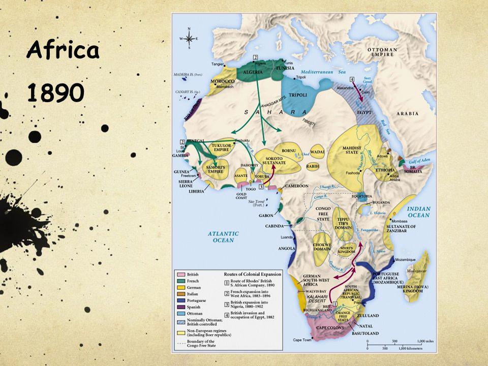 Africa 1890