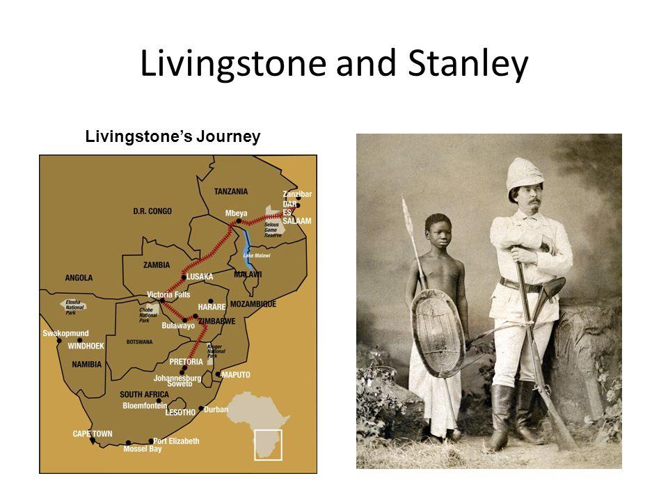 Livingstone and Stanley Livingstone's Journey