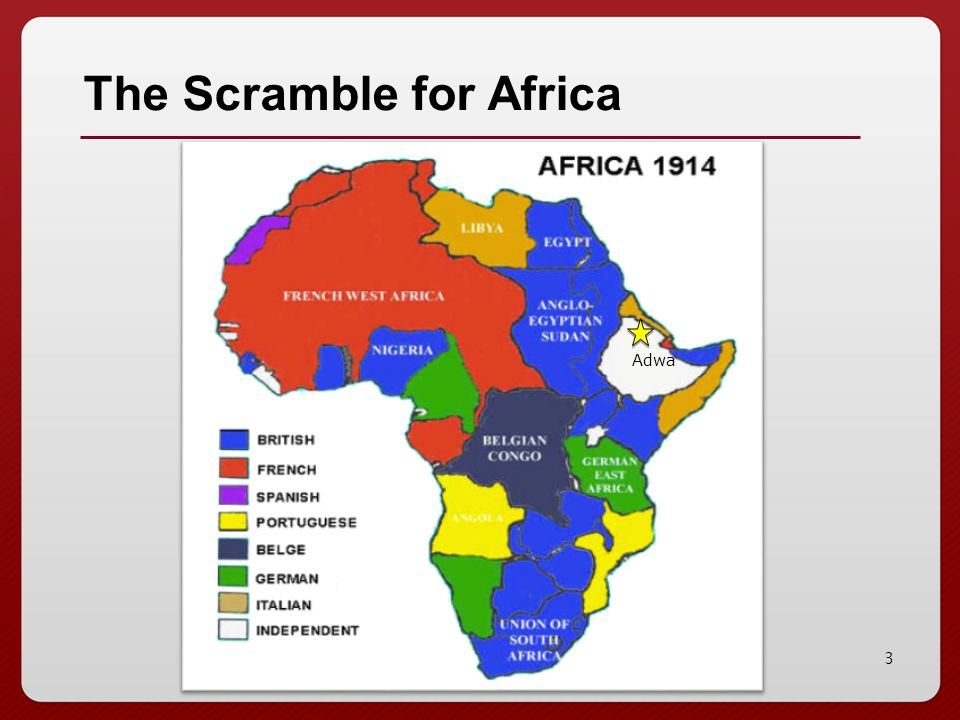 3 The Scramble for Africa Adwa