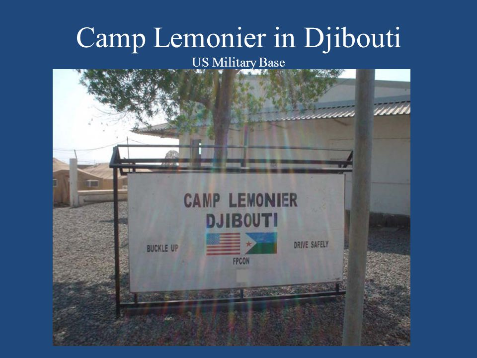 Camp Lemonier in Djibouti US Military Base