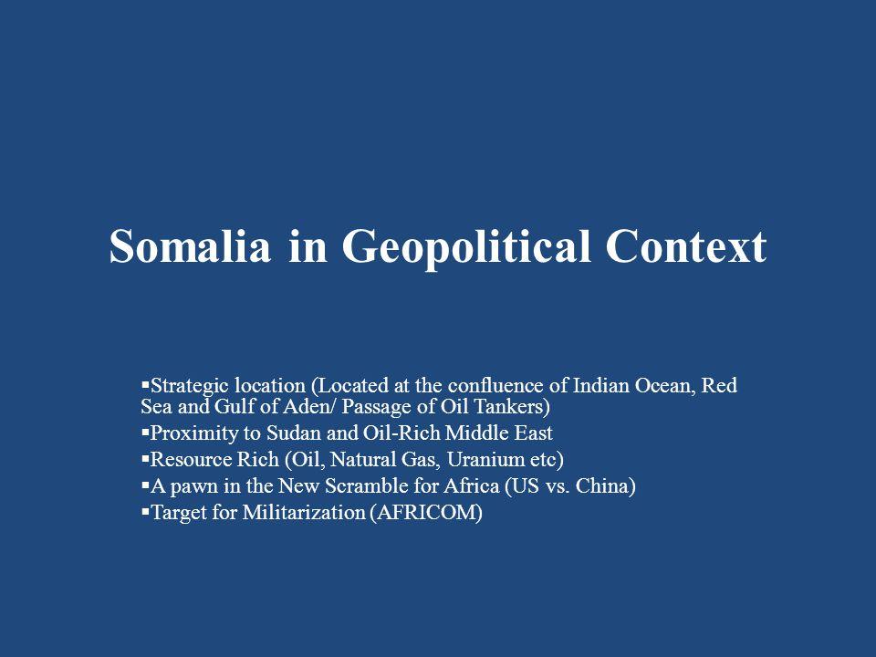 CJTFHOA – Patrols in the Indian Ocean (Act of Aggression Against Somalia)