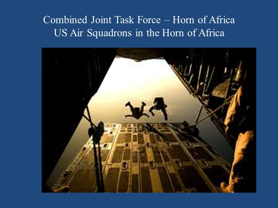Combined Joint Task Force – Horn of Africa US Air Squadrons in the Horn of Africa