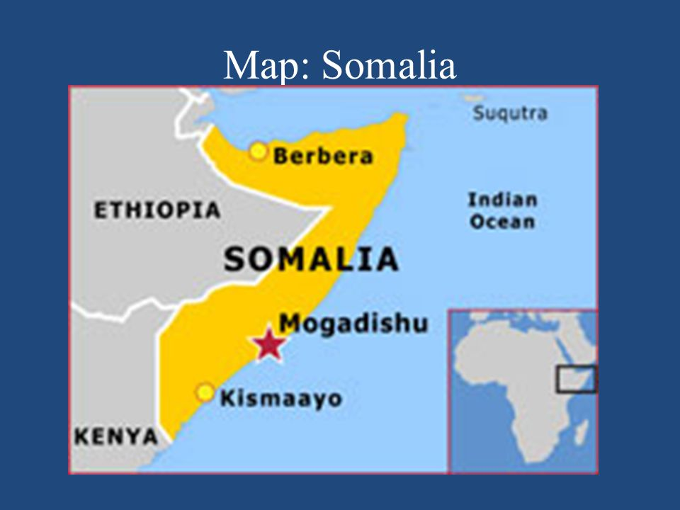 Map: Somalia