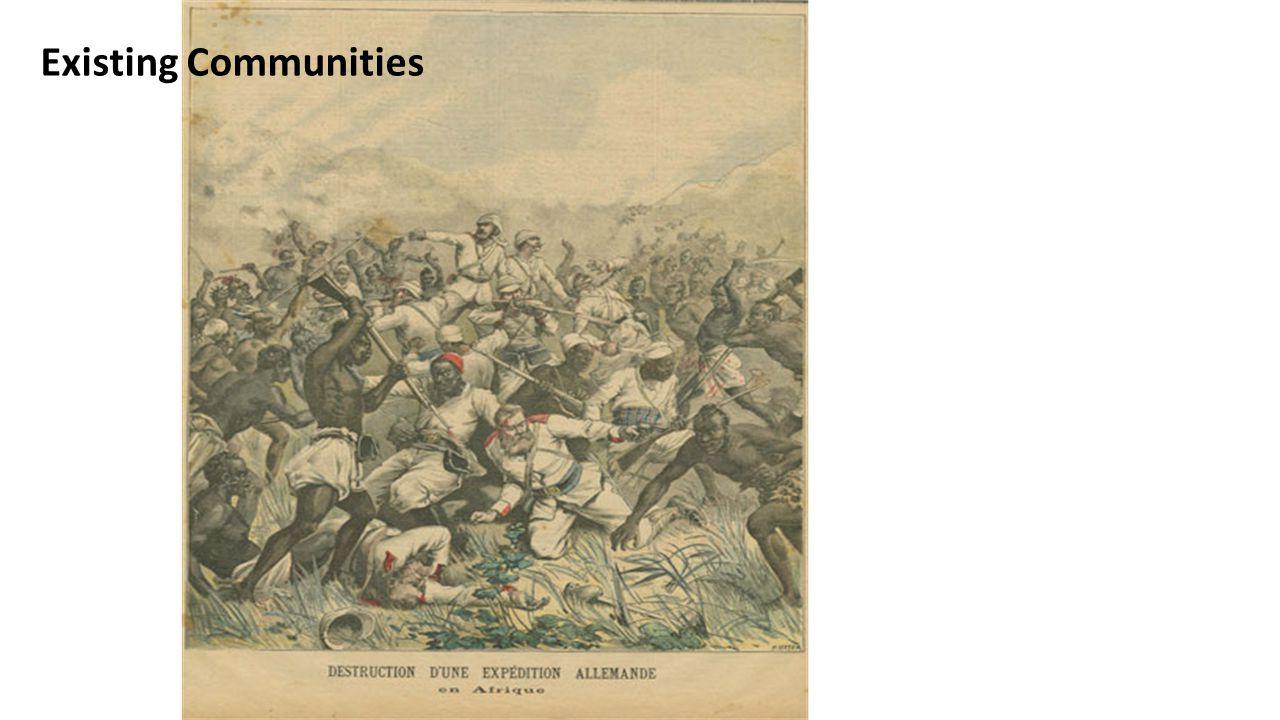 Existing Communities