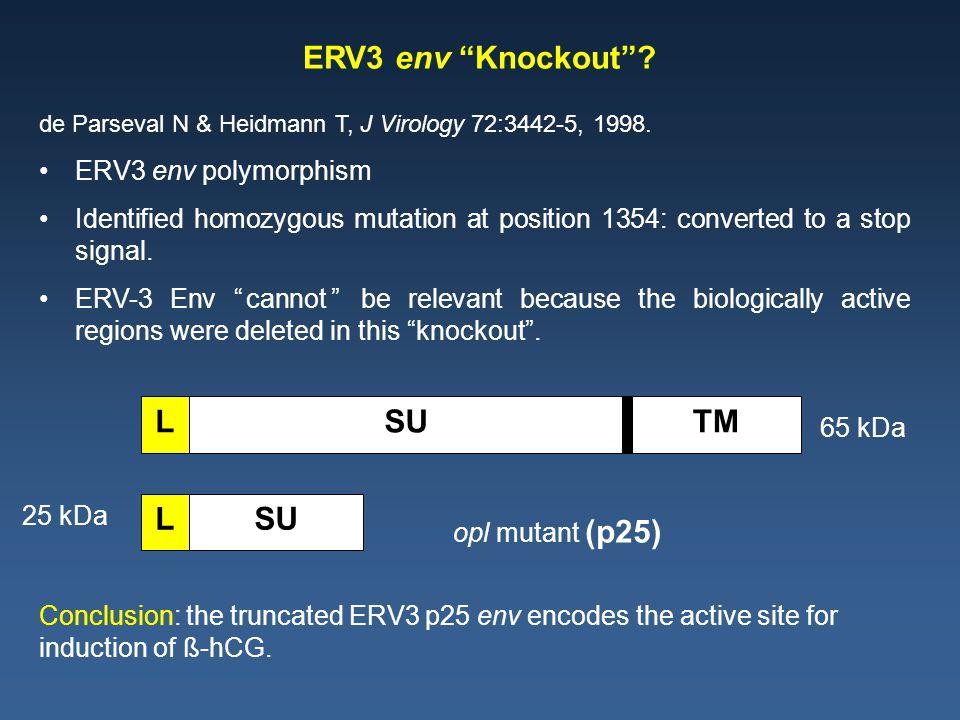 de Parseval N & Heidmann T, J Virology 72:3442-5, 1998.