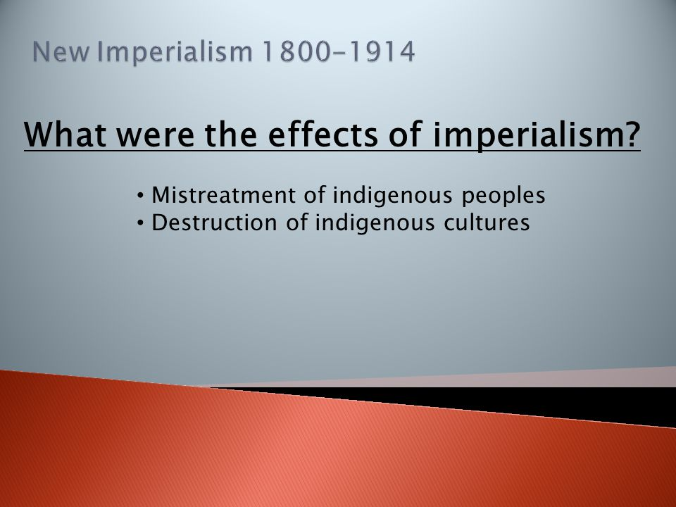 Mistreatment of indigenous peoples