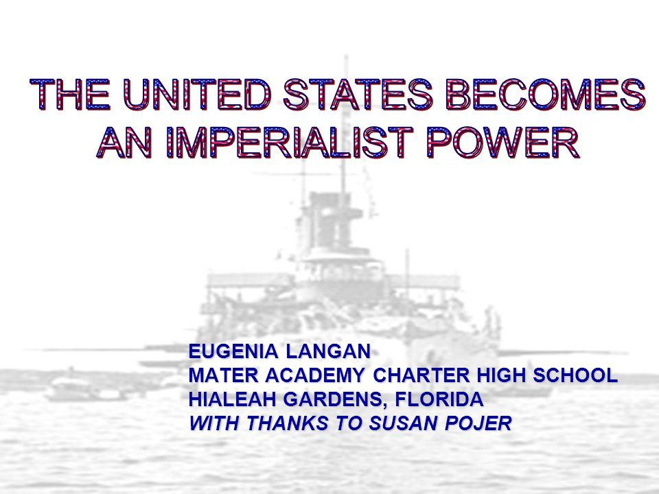 EUGENIA LANGAN MATER ACADEMY CHARTER HIGH SCHOOL HIALEAH GARDENS, FLORIDA WITH THANKS TO SUSAN POJER