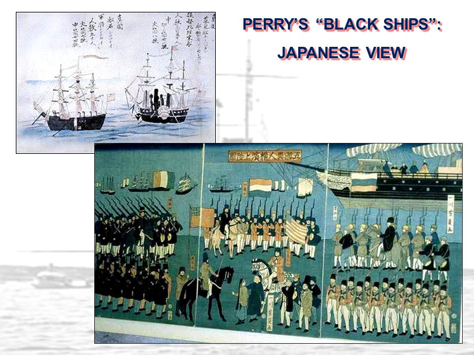 """PERRY'S """"BLACK SHIPS"""": JAPANESE VIEW PERRY'S """"BLACK SHIPS"""": JAPANESE VIEW"""