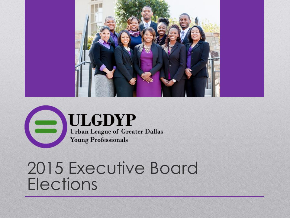 2015 Executive Board Elections