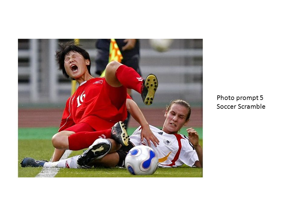 Photo prompt 5 Soccer Scramble
