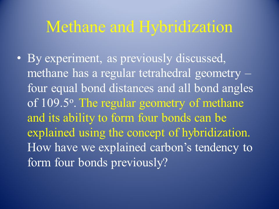 Hybridization in NH 3 and H 2 O The sp 3 hybridization picture can also be used to discuss the bonding in NH 3 and H 2 O.