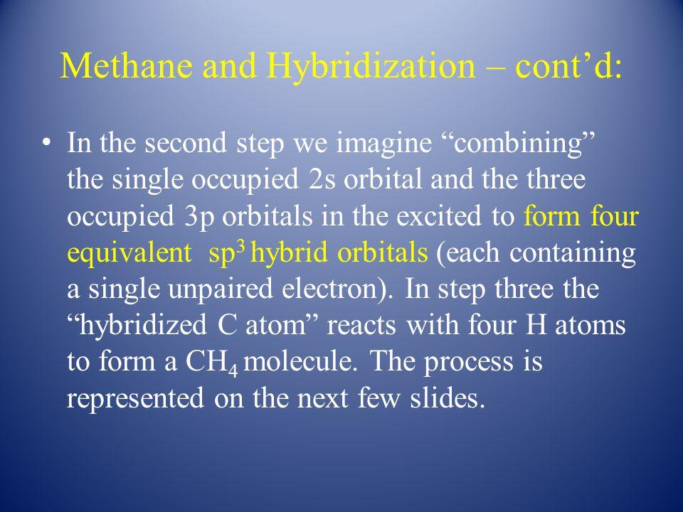 Bonding in Ethylene – an Information Packed Slide – cont'd.