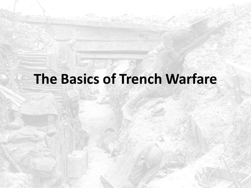 What is Trench Warfare.