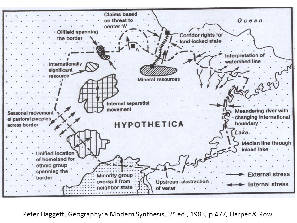 Peter Haggett, Geography: a Modern Synthesis, 3 rd ed., 1983, p.477, Harper & Row