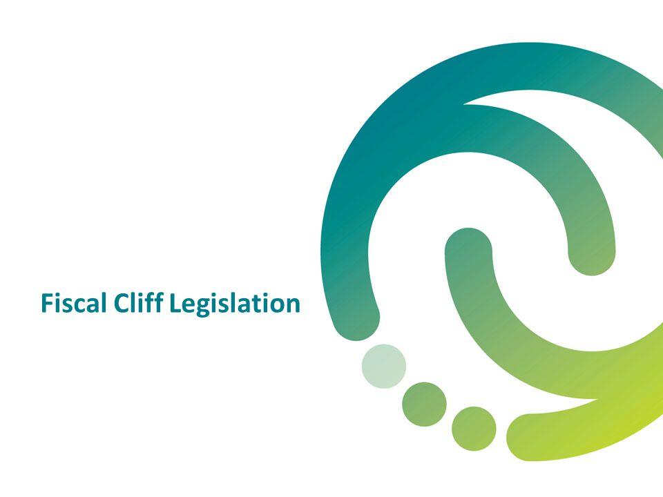 Fiscal Cliff Legislation