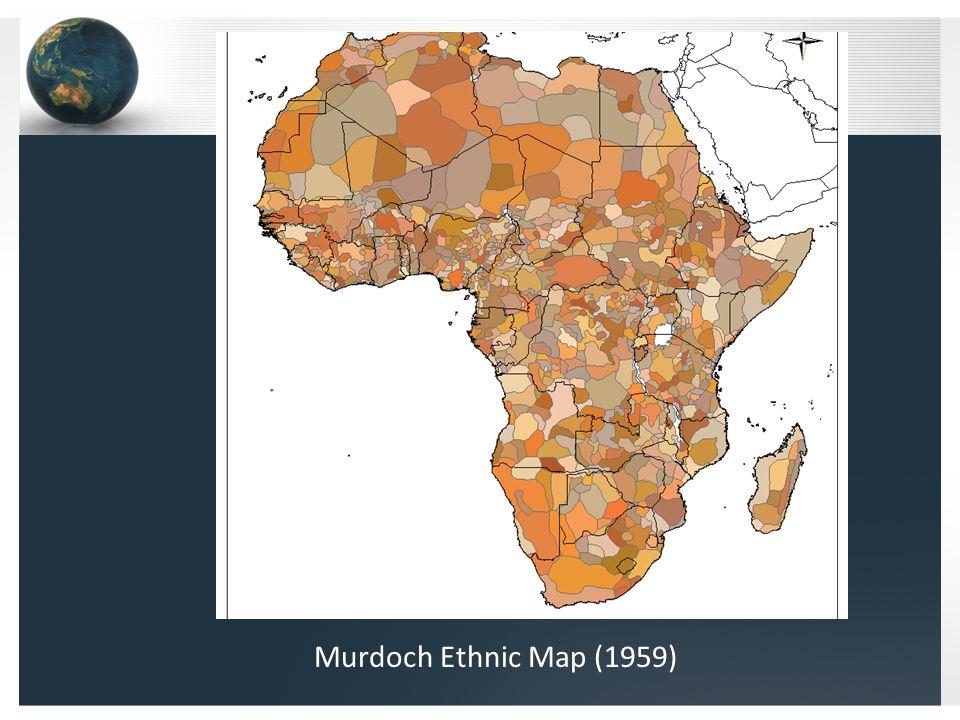 Murdoch Ethnic Map (1959)