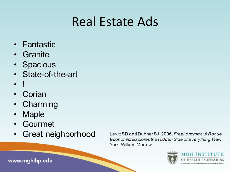 Real Estate Ads Fantastic Granite Spacious State-of-the-art .