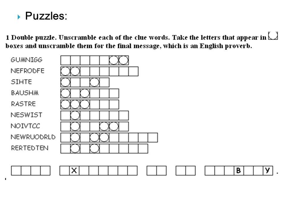  Puzzles:
