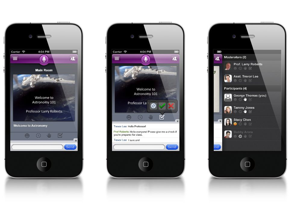 Collaborate on a Smartphone