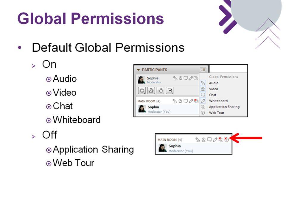 Global Permissions