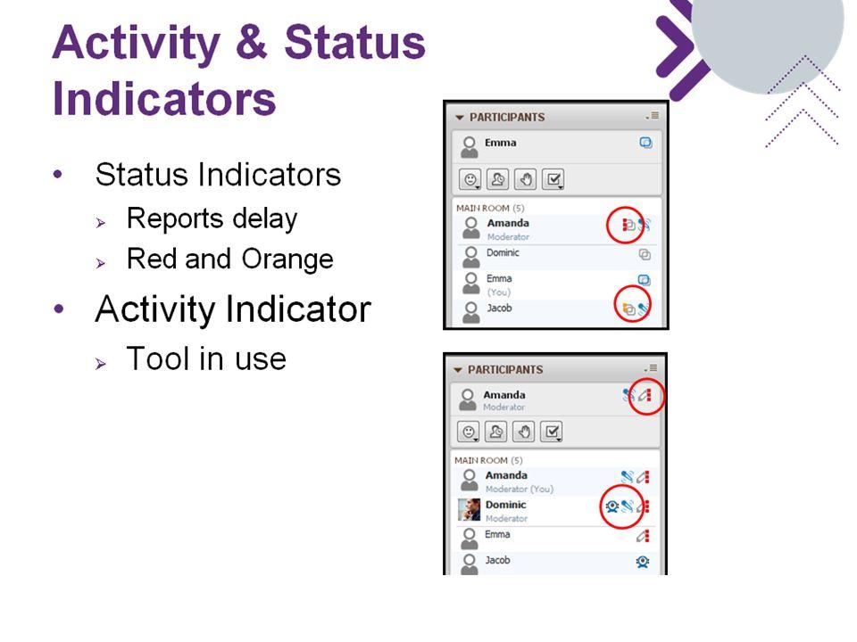 Activity & Status Indicators